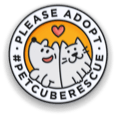 #PetcubeRescue Enamel Pin
